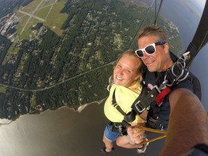 Flying over The Outer Banks