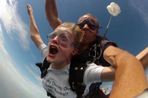 Skydive North Carolina OBX Tandem Freefall 120mph