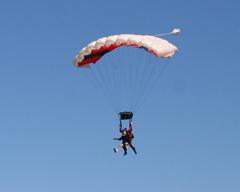 Skydive OBX Tandem Landing